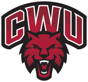 Central Washington Football Logo
